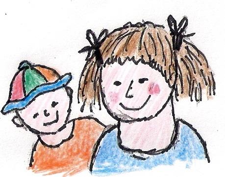 Logo Kinderopvang Dribbel, gastouder Nuis,  gastouderbureau inZicht