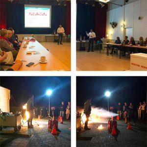 GOB inZicht Westerkwartier gastouder voorlichter van Hussel workshop Brandpreventie & Blusmiddelen