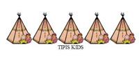Logo Tipis kids Kinderopvang gastouder Sandra Jonkman Grootegast GOB gastouderbureau inZicht