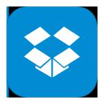 Oudercommissie gastouderbureau gebruikt Dropbox icon