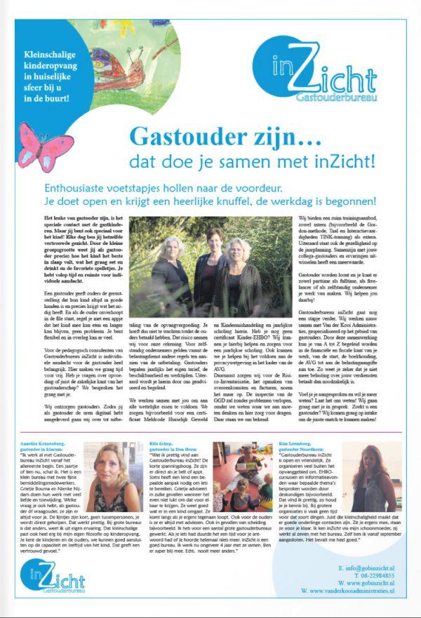 De Streekkrant Westerkwartier review Annelies Kranenburg inZicht