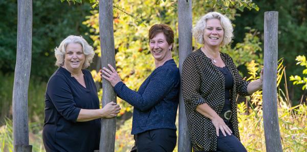 inZicht team Grietje Bouma, Nienke Nijdam, Diana van der Kooi