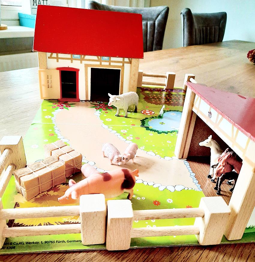 Kinderopvang bij Harma speelgoed boerderij Westerkwartier