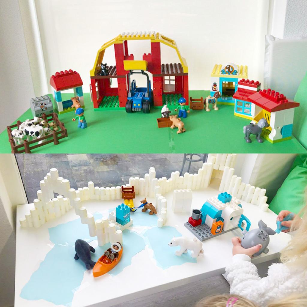Lego duplo spelletjes spelen kinderopvang Zonnestraal Groningen