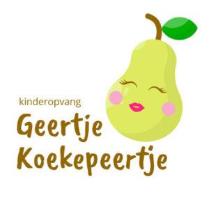 Logo Geertje Koekepeertje-350