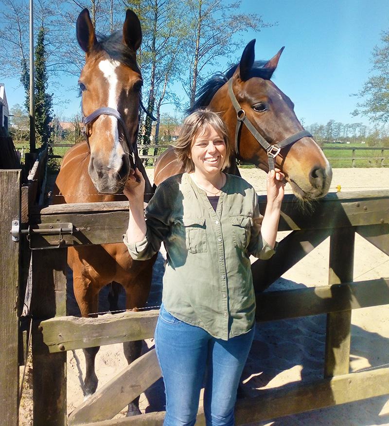 Paarden Marjolijn Willems gastouder Nuis