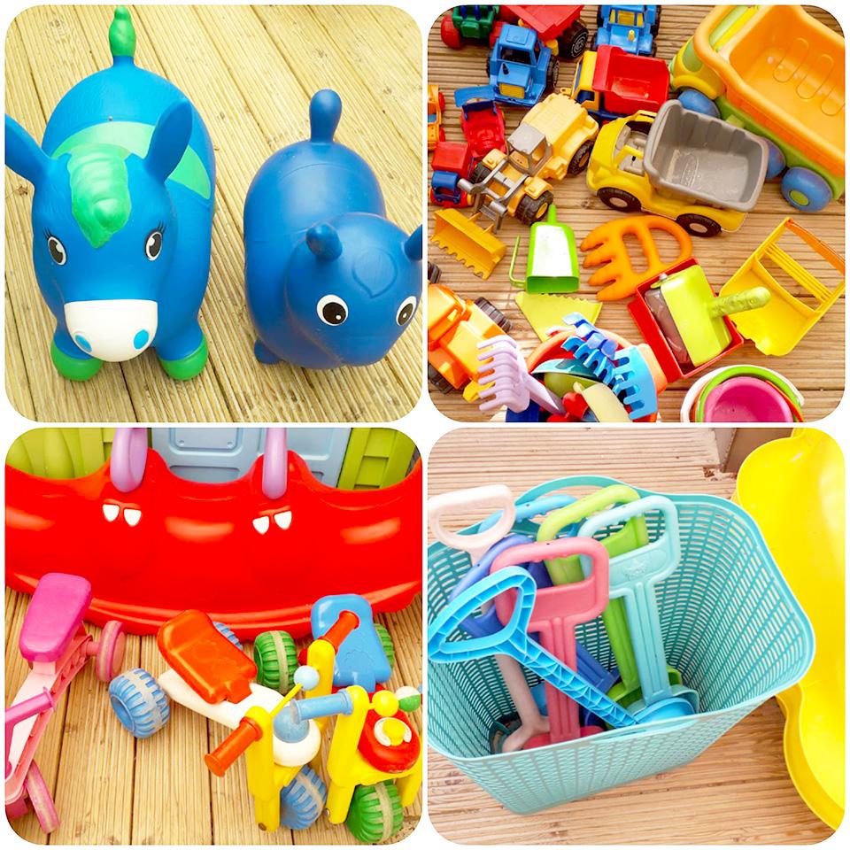 Peuter speelgoed gastouderopvang Huize Roezemoes