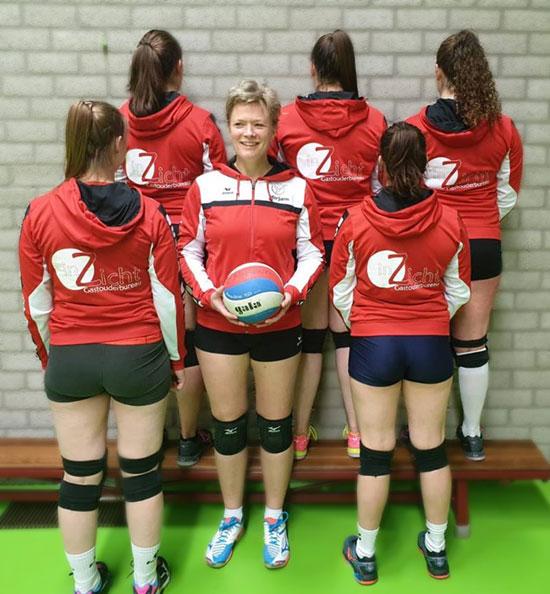 """Volleybalteam De Meeuwen Zuidhorn dames 2 sponsor inZicht"""""""
